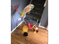 fisher price trike & toddler bike