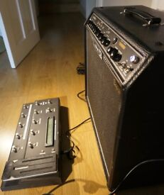 Line 6 Spider Valve Guitar Amp with Pedal Board