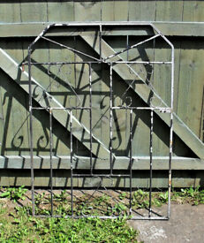 GARDEN GATE - GALVANIZED (WITH SCROLL WORK PATTERN)