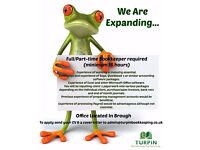 Bookkeeper Vacancies For Expanding Family Business