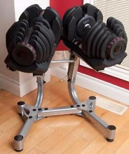 NEW Weight select Dumbbells Each dumbbell adjusts from 10 to 90 lbs.(Kelowna location) $75 Shipping