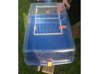 Hamster gerbil cage