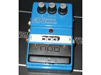 Dodd Stereo Chorus pedal (USA Made)