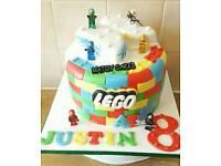 Beautiful wedding cakes, birthday cakes, graduation cakes, baby shower cakes and christening cakes.