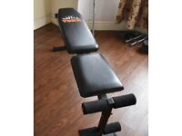 Weight Bench York with Adjustable Incline Levels