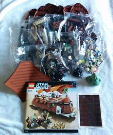 Star Wars Lego 6210 Jabba's Sail Barge - Brand New in Original Sealed Bags - Unboxed