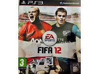 """FIFA 12"" PS3 Game"