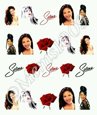 Selena Nail Art  water decals Selena Nail Decals, used for sale  Philadelphia