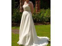 Wedding Dress for sale - Victoria Jane by Ronald Joyce, Size 14, £400