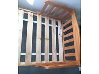 Mothercare toddler bed with mattress