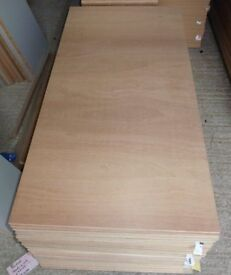 5 pieces of NEW 9mm B/BB Hardwood Exterior Ply 48in x 19¼in (1220mm x 490mm)