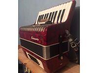 32 bass, Sorrento Accordion. Mint condition.