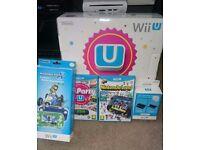 "Wii u "" 250gig + Brazilian mod """