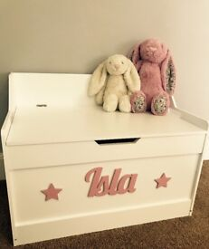Lovely Lila Personaliseds Toy Boxes