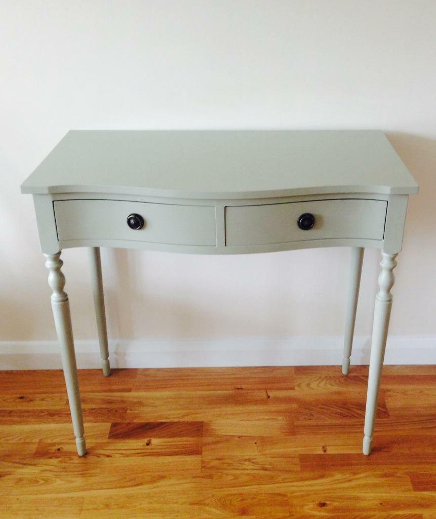 French Grey Console Side Table In Cheltenham