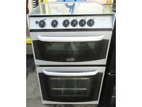GOOD WORKING CONDITION, A NICE CANNON STRATFORD SILVER AND BLACK GAS COOKER