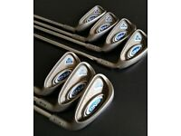 Golf Clubs - Ping G5 Irons Full Set - Green Dot Steel - W to 9