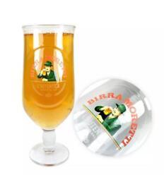 Birra Moretti Half Pint Glass (18Available)
