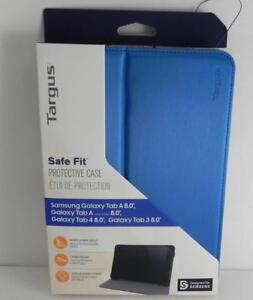 "New, Targus Safe Fit Tablet Case for Samsung Tab A 8"" - Blue (THZ60802GL)"