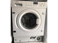 BOSCH Logixx 7 integrated washing machine 1400 spin £150 good condition
