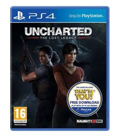Sony Uncharted: The Lost Legacy (Includes free download of That's You)