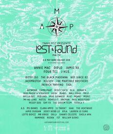 AMP Lost & Found Festival (1 Ticket)