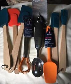 Selection Of kitchen utensils