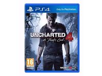 Uncharted 4: A Thief's End PS4 Playstation 4 Game