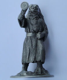 Dr Who SEA DEVIL PEWTER Statue Figure Figurine Danbury Mint World Of Doctor Who. Rare Collectible