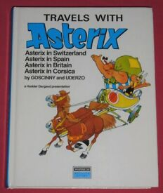 'Travels With Asterix' Hardback Graphic Novel