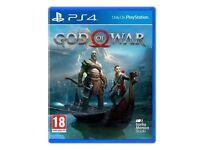 God Of War, Still sealed! (PS4)