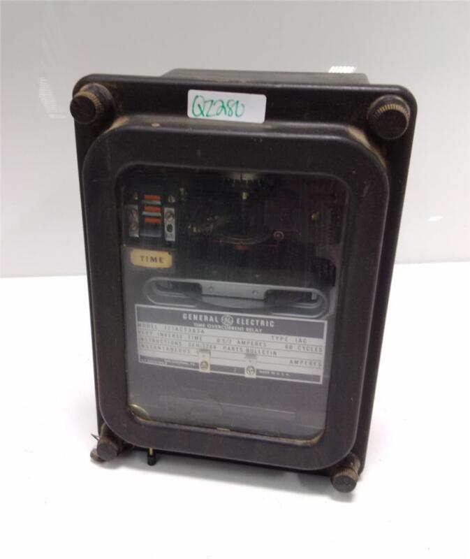 GENERAL ELECTRIC TIME OVERCURRENT RELAY 121AC53A3A