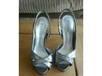 Women's Guess open toed high heels