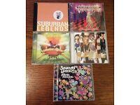 Five Ska Punk Suburban Legends CDs - Some Signed