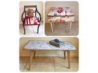 Bargain Buys - Chairs, Tables, Chest of drawers, Bedside drawers