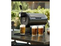 Beerwulf The SUB Compact Black UK   Draught Beer Tap for Home by Krups   2L
