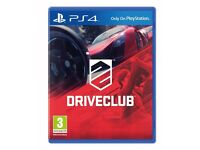 DRIVECLUB PS4 GAME - PERFECT CONDITIONS