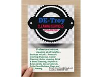 DE - Troy cleaning services/ window cleaning /pressure washing / bin cleaning