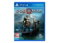 New God of War Game Brand New & Sealed PS4