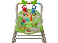 Fisher Price Rainforest Infant-Toddler Rocker