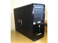 Cheap computer parts ZOOSTORM Case + 250GB HDD + DVDRW + 300W PSU good working order