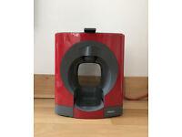 NESCAFE Dolce Gusto Oblo Red by Krups coffee machine