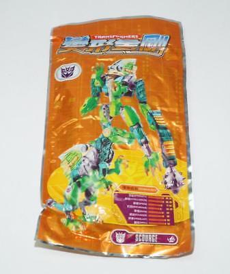 Scourge NEW SEALED Figure Kit Takara Kabaya Choco Transformers G1 Beast Wars, used for sale  Eldora