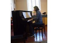 Piano lessons in Northolt / Harrow / Ruislip / Eastcote area