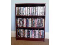 Bookcase with 2 Fixed Shelves Ideal for DVDs