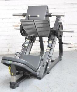 NEW eSPORT NEXT GENERATION 45° LEG PRESS WITH SELF ADJUSTING PRESS PLATE
