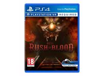 Until Dawn: Rush of Blood (PSVR) like new - playstation 4 game vr virtual reality