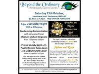 Beyond the Ordinary Mind Body Spirit Event