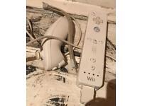 Nintendo Wii controller and nunchuck