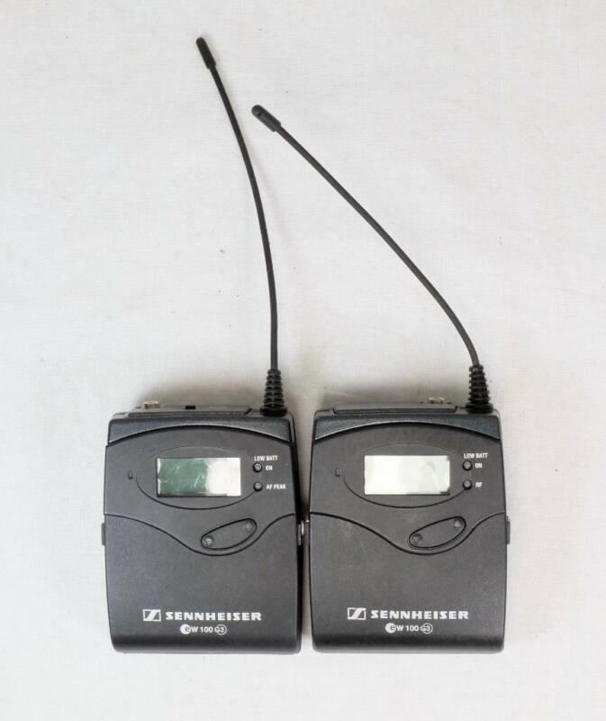 Sennheiser EW 100 G3 Bodypack Transmitter & Diversity Receiver - CLEAN! (6018)